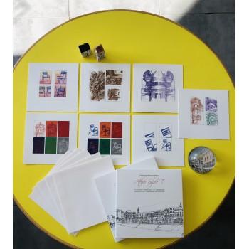 Pochette de cartes doubles avec enveloppes